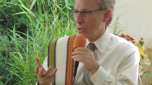 Dr. Marc Halpern speaking at event