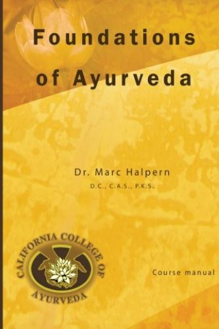 Foundations of Ayurveda book cover