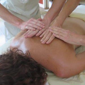 Ayurvedic massage technique