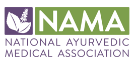 National Auyrvedic Medical Association logo
