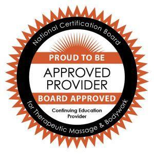 National Certification Board for Therapeutic Massage and Bodywork | Proud To Be A Board Approved Provider